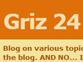 Griz 24 blog